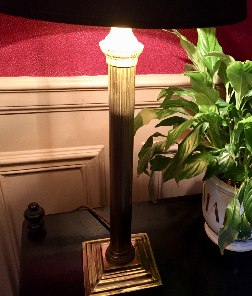 traditional french art nouveau desk lamp